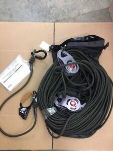 MSA SRS15200 Rescue System, 600 lb, Nylon Fiber, 6000 lb.