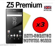 3x HQ Crystal Clear Screen Protector Cover Film Guard for Sony Xperia Z5 Premium