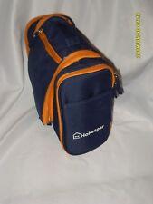 Heavy Duty Waterproof Hanging Toiletry Bag- Travel Cosmetic Bag Dark Blue NEW