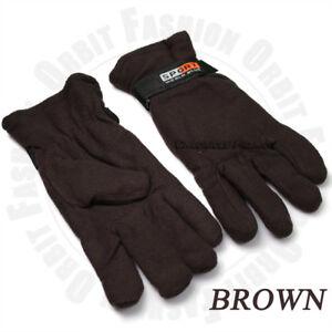 Thermal Warm Gloves Mitten Ski Snow Fleece Outdoor Sports Work Winter Men Women
