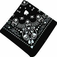 Skull Bandana Hiphop Gothic Headwear/Hair Band Scarf Neck Wrist  HOT Hot