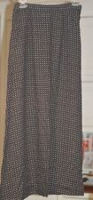 """WOMENS """"CASUAL CORNER"""" GEOMETRIC RAYON SKIRT SIZE: S *PRE-OWNED*"""