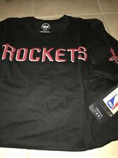 Houston Rockets 47 Brand Fieldhouse Logo SS T-shirt XL Black