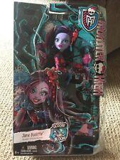 Monster High Gloom 'n Bloom Jane Boolittle Doll NEW