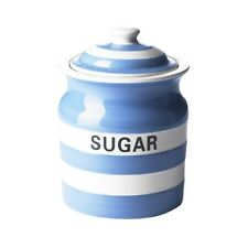 Cornish Blue Sugar Storage Jar by T.G.Green Cornishware