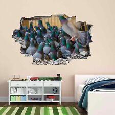 Palomas Pared Arte Calcomanía Adhesivo Mural Niños Dormitorio Hogar Oficina Decoración Infantil BH3