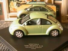 VW NEW BEETLE 2.0 1999 METALLIC GREEN VITESSE 1/43 VERT