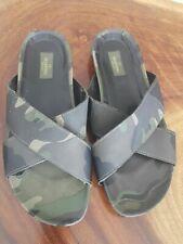 New Valentino Garavani Men Flip Flops camouflage shoe size 10 (44)