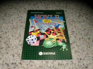 Hoyle Game Official Book of Games Volume 3 Manual - No Game