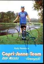 RUDY PEVENAGE Team CAPRI SONNE Signed Autographe cycling dédicace cyclist merckx