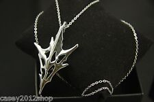 Limited Final Fantasy XIII Silvery Pendant Lightning Necklace Valentine's Gift