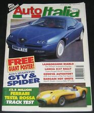 Auto Italia (UK) July / Aug 1996-Lamborghini Diable
