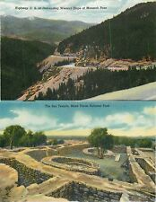 USA COLOR. two-sided printing NO postcard Million dollar Highway N°1 (S-L XX282)