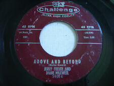 Jerry Fuller and Diane Maxwell Above and Beyond / One Heart 1960 45rpm