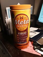 Metamucil 4-in-1 Fiber Supplement Sugar-Free Powder Orange 130 tsp 26.6 oz.