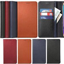 Limit Genuine Leather Flip Case for LG G7 G6 G5 G4 G3 V30 Q6 Stylus2 / K10 K8