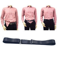 1pc Shirt Stay Nylon Adjustable Invisible Shirt Lock for Keeping Shirt Tucked in