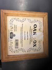 """*NEW* Sudberry House 5 1/4"""" Oak Wooden Box Needlepoint, Cross Stitch & Photo"""