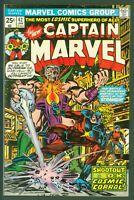Captain Marvel #42 FINE Marvel Comics 1976
