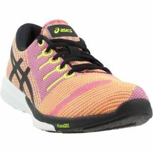 ASICS Fuzex Knit Womens Running Sneakers Shoes    - Orange