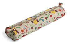 Stricknadel / Nadel Tasche Aufbewahrung Hülle von Hobby Eulenmuster 10x40x5.5cm
