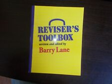 Reviser's Toolbox Written and Edited by Barry Lane
