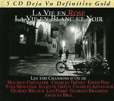 Deja Vu Definitive Gold, La Vie En Rose, La Vie En Blanc Et Noir - Box 5 CD