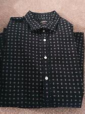 CHARLES TYRWHITT XL Slim Fit  Navy Blue Shirt
