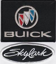 BUICK SKYLARK SEW/IRON ON PATCH EMBLEM BADGE EMBROIDERED