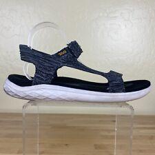 Teva Terra Float 2 Knit Universal Sandals Mens Size 11 Gray / White
