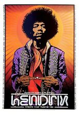 Jimi Hendrix Iron On Transfer For T-Shirt & Other Light Color Fabrics #4