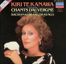 Canteloube: Chants d'Auvergne Lynn Harrell Kiri Te Kanawa (CD 1984) West Germany