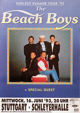Original Konzertplakat    The Beach Boys 1993   Stuttgart Schleyerhalle
