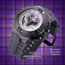 Invicta Reserve Excursion Master Calendar Purple/Silver Swiss Made Chrono Watch