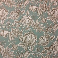 "MILL CREEK PERDIDO SPA BLUE FLORAL TOILE FURNITURE DRAPERY FABRIC BY YARD 54""W"