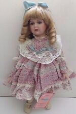 VANESSA COLLECTION Porcelain Doll HIGH QUALITY Special Edition Vtg. 1994 Series