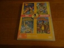 SECRET OF THE HUNCHBACK, SNOW WHITE MAGIC MIRROR DVD *NEW AND SEALED*