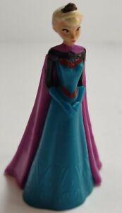 "Disney FROZEN -Queen Elsa of Arendelle 3.5"" PVC Figure Figurine Cake Topper Rare"