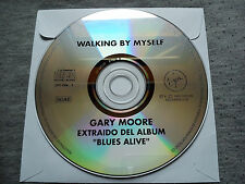 """GARY MOORE – """"WALKING BY MYSELF"""" ONLY SPANISH PROMOTIONAL CD LIVE SINGLE"""