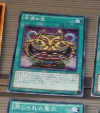 YU-GI-OH JAPANESE SUPER RARE HOLO CARD SECE-JP063 Pot of Riches Super JAPAN MINT
