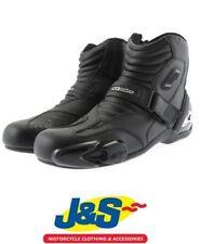 Bottes noirs Alpinestars pour motocyclette femme