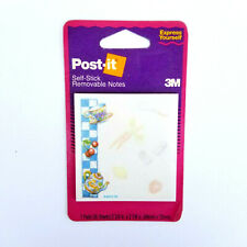 Vintage 1994 Post-It Sticky Note Pads New Sealed 35 Sheets 3M Made in USA