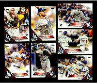 2016 Topps L.A. DODGERS Team Set 1 2 w/Update SEAGER & URIAS RC'S MINT 47 cards