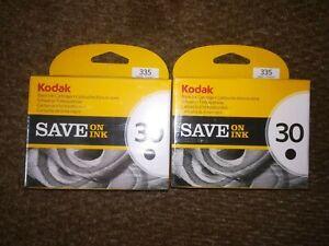 Kodak 30 X2 Printer Black Inks Ink Both Brand New And Sealed Free-Post UK