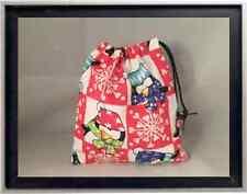 Gymnastics Leotard Grip Bags / Holiday Penguins Gymnast Birthday Goody Bag