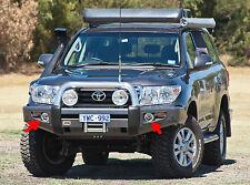 Angel Eye Fog Lamps Driving Lights Kit for Toyota Land Cruiser ARB Bumper