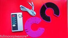 WOMENS ELECTROSEX TENS BREAST ENLARGEMENT MASSAGE SET 1 UNIT 2 PADS AND LEAD,UK!