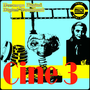 CINE 3 - Pack 8 Midi Files. Descarga Digital. Escucha Demos. General Midi