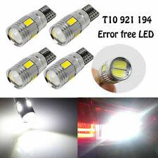5Pcs 921 T15 T10 194 912 Error Free LED Canbus Bulbs Back Up Reverse Light White