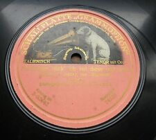 0026/ ENRICO CARUSO-Questo o quella-Rigoletto-Verdi- single sided -Schellack